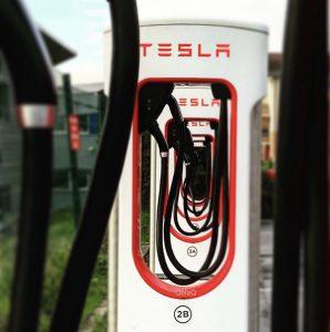 nouvelle borne de recharge Tesla V3