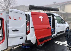 Ranger Tesla : garagiste Tesla mobile