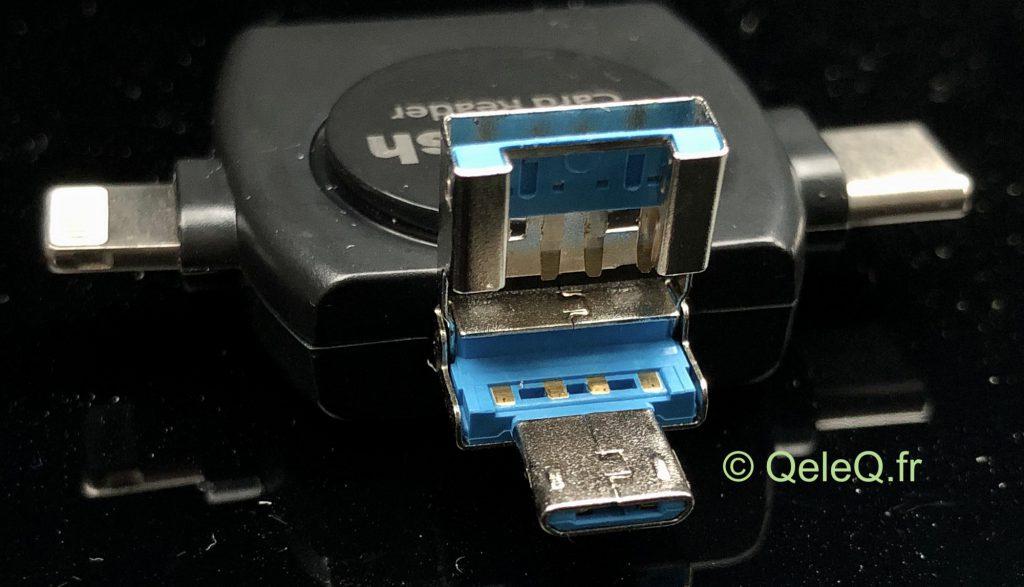 lecteur carte SD Tesla sur Mac PC