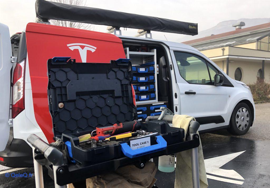 comment trouver garagiste reparation Tesla pres de chez soi