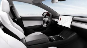 interieur en photo tesla model 3 2021