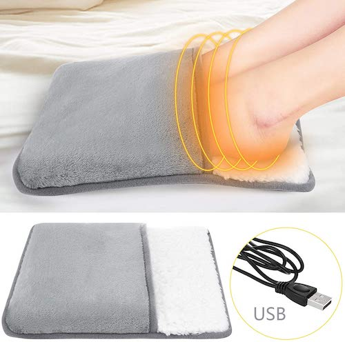 chauffe pied à brancher sur prise USB
