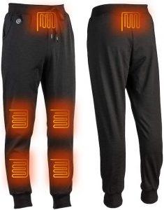 pantalon chauffant avec prise pour batterie usb 5V