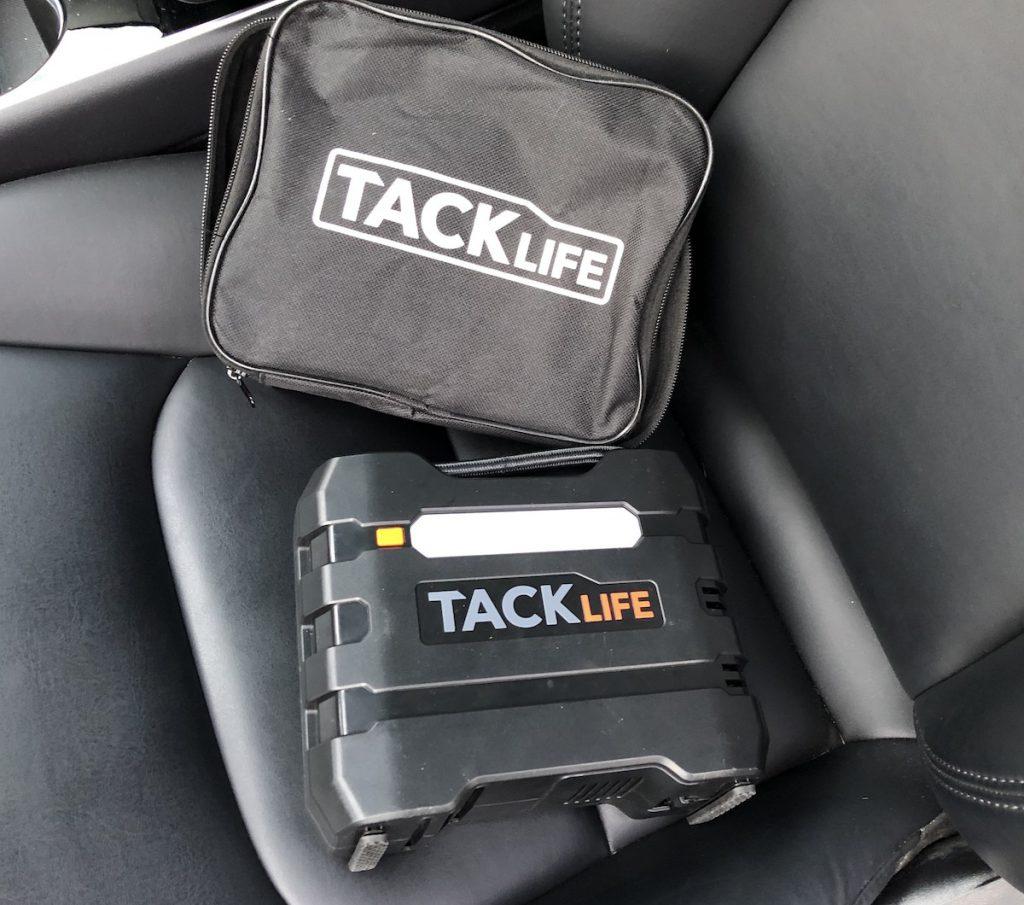 gonfleur 12V hacklife pour Tesla model 3