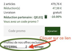 procedure utilisation bon de reduction greendrive 10 €