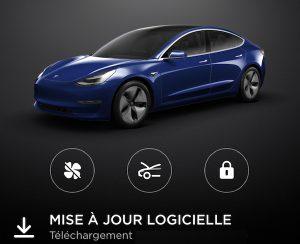 nouvelle mise à jour Tesla Model 3 Model Y Model S Model X