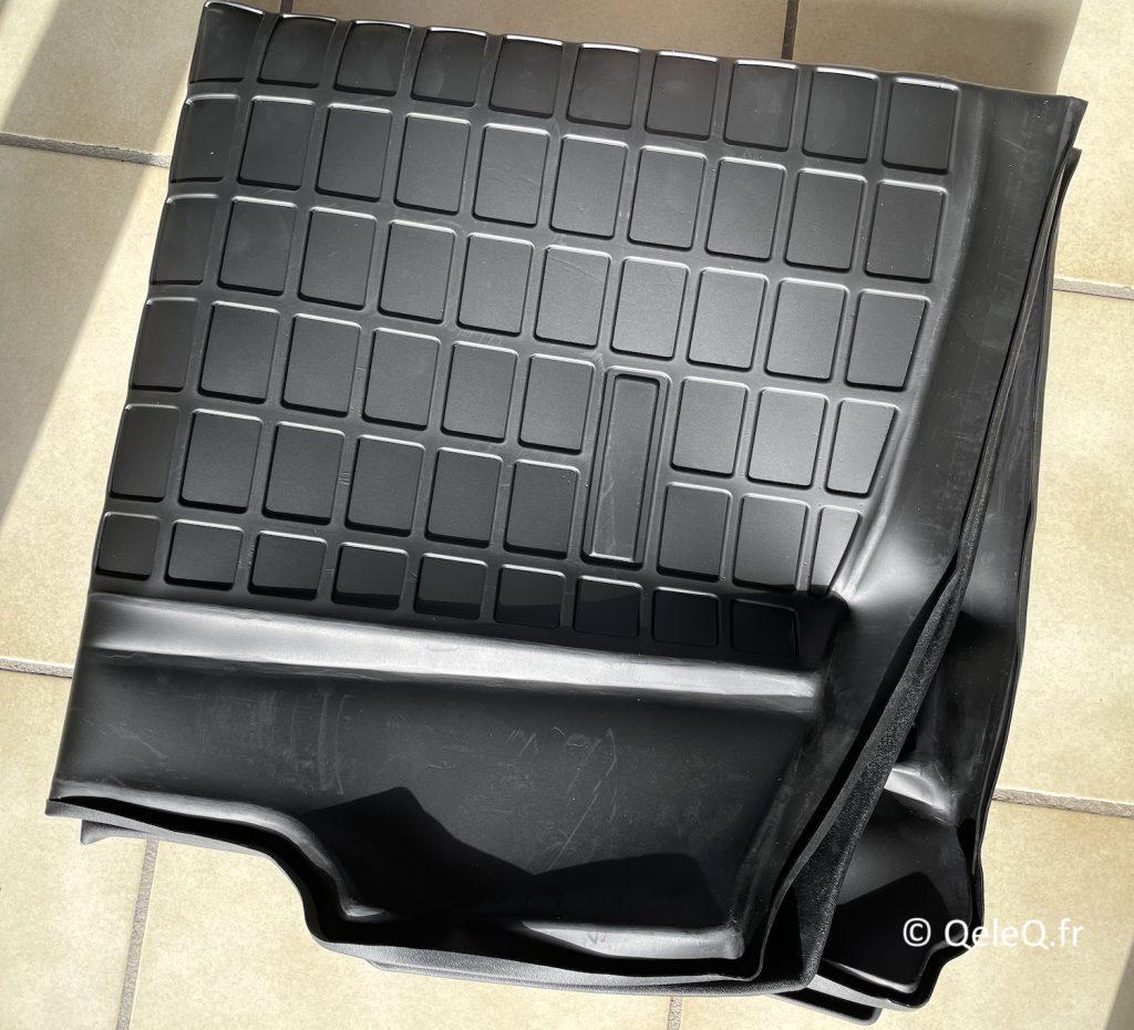 photo tapis de coffre tesla model 3 green drive