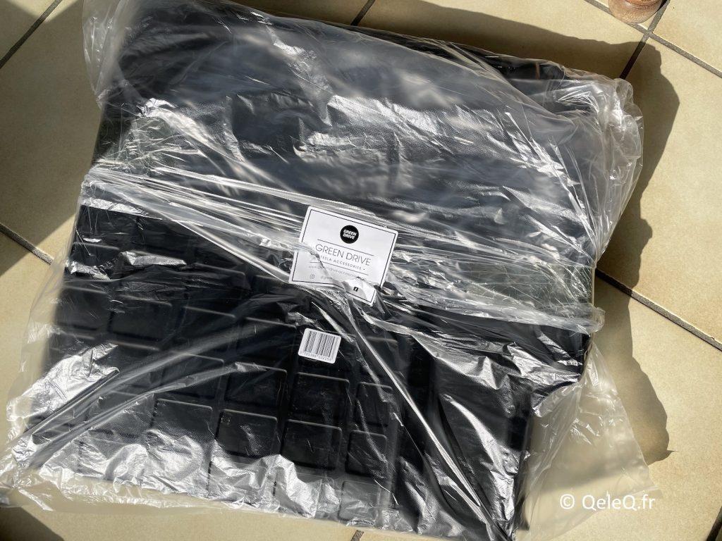 test tapis de coffre arriere tesla model 3