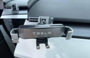 support téléphone pas cher et pratique pour tableau de bord Tesla Model 3 version aliexpress